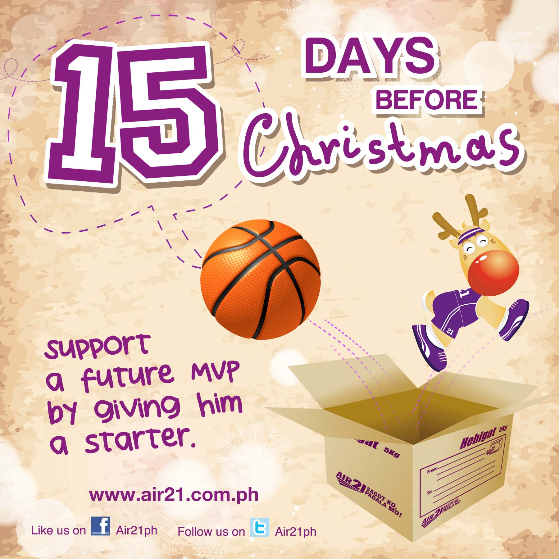 Air21 Blog » Blog Archive » AIR21 Countdown: 15 Days before Christmas