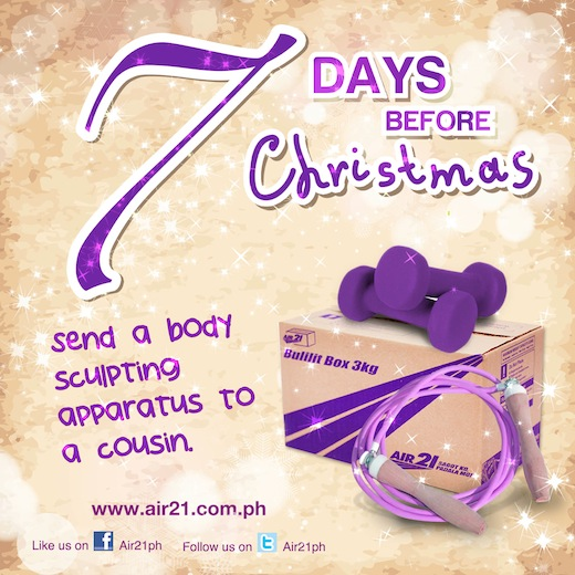 Air21 Blog » Blog Archive » AIR21 Countdown: 7 Days before Christmas